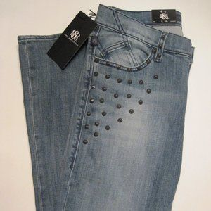 Rock & Republic Kasandra Studs Bootcut Jeans Sz 8